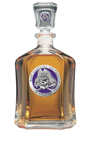 East Carolina Pirates Capitol Decanter | Heritage Pewter | CPT10187EP