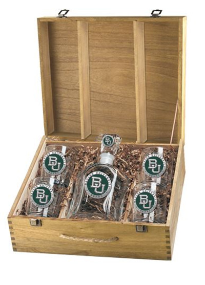 Baylor Bears Decanter Box Set | Heritage Pewter | CPTB10316EG