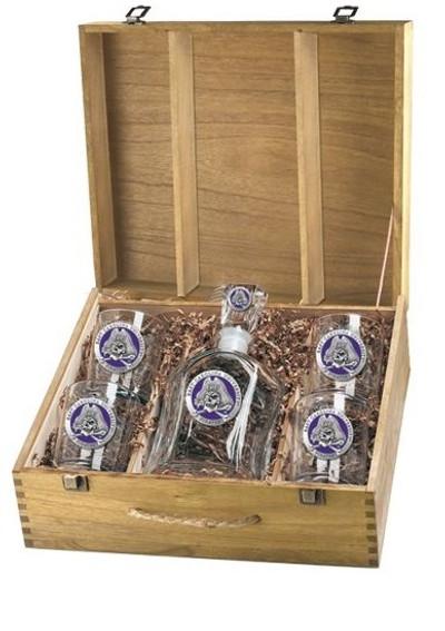 East Carolina Pirates Decanter Box Set | Heritage Pewter | CPTB10187EP