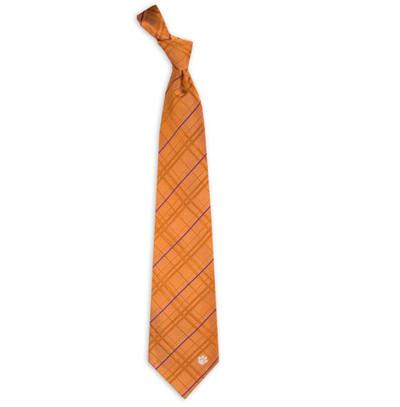 Clemson Tigers Oxford Woven Silk Tie