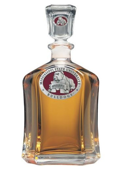 Mississippi State Bulldogs Capitol Decanter | Heritage Pewter | CPT10509ER