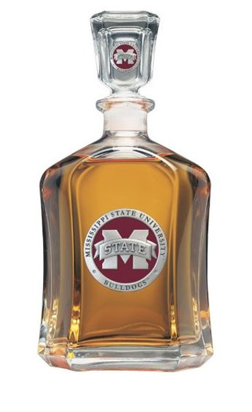 Mississippi State Bulldogs Capitol Decanter | Heritage Pewter | CPT10293ER