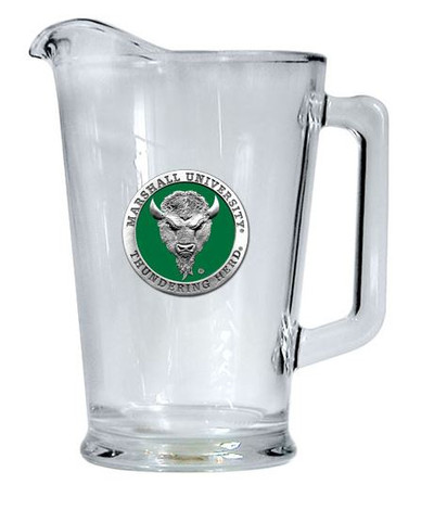 Marshall Thundering Herd Beer Pitcher | Heritage Pewter | PI10243EG