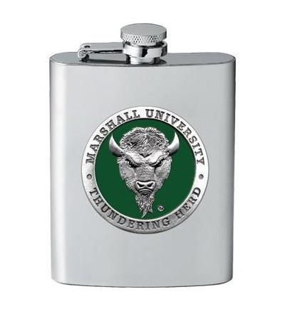 Marshall Thundering Herd Flask | Heritage Pewter | FSK10243EG