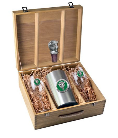 Marshall Thundering Herd Wine Box Set | Heritage Pewter | WSB10243EG