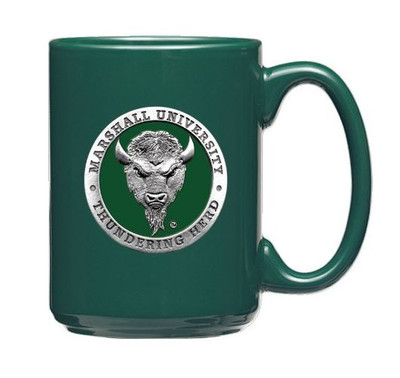 Marshall Thundering Herd Coffee Mug | Heritage Pewter | CM10243EGDG