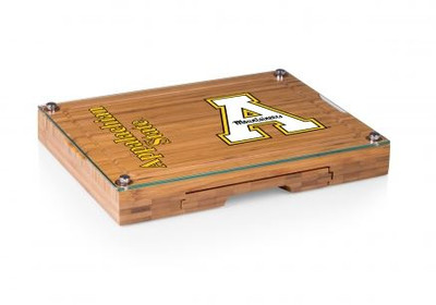 Appalachian State Mountaineers Concerto Bamboo Cutting Board | Picnic Time | 919-00-505-794-0