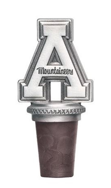 Appalachian State Mountaineers Bottle Stopper | Heritage Pewter | BS10325