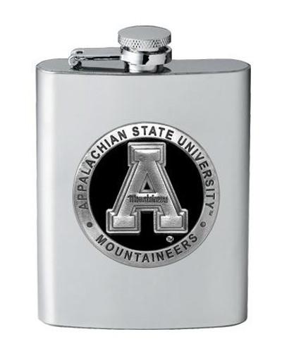 Appalachian State Mountaineers Flask | Heritage Pewter | FSK10325EK