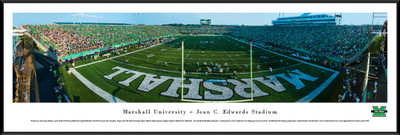 Marshall Thundering Herd Standard Frame Panoramic Photo - End Zone | Blakeway | MARU2F