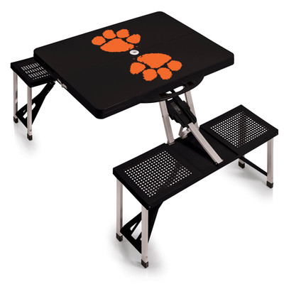 Clemson Tigers Folding Picnic Table | Picnic Time | 811-00-175-104-0