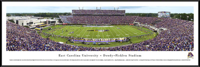 East Carolina Pirates Standard Frame Panoramic Photo | Blakeway | ECU2F