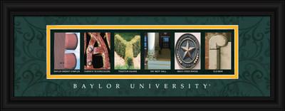 Baylor Bears Letter Art | Get Letter Art | CLAL1C18BAYL