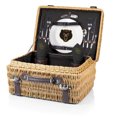Baylor Bears Champion Picnic Basket - Black | Picnic Time | 208-40-179-924-0