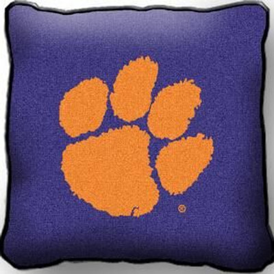 Clemson Tigers Paw Throw Pillow | Pure Country | 1540-P