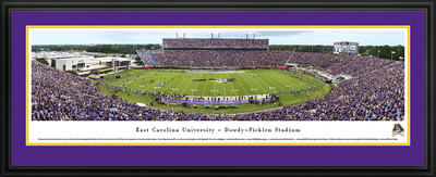 East Carolina Pirates Standard Frame Panoramic Photo | Blakeway | ECU2D