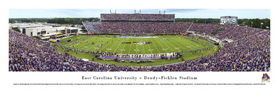 East Carolina Pirates Standard Frame Panoramic Photo | Blakeway | ECU2