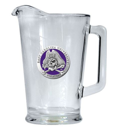 East Carolina Pirates Beer Pitcher | Heritage Pewter | PI10187EP