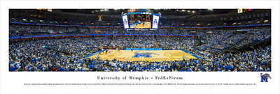 Memphis Tigers Standard Frame Panoramic Photo | Blakeway | UMEM1