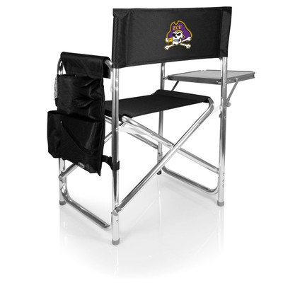 East Carolina Pirates Sports Chair | Picnic Time | 809-00-179-874-0