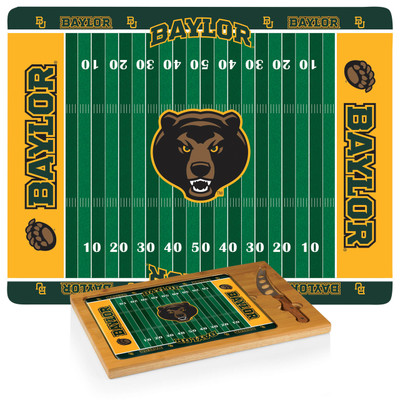 Baylor Bears Icon Cheese Tray | Picnic Time | 910-00-505-924-0