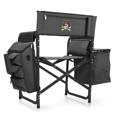 East Carolina Pirates Fusion Tailgating Chair | Picnic Time | 807-00-679-874-0