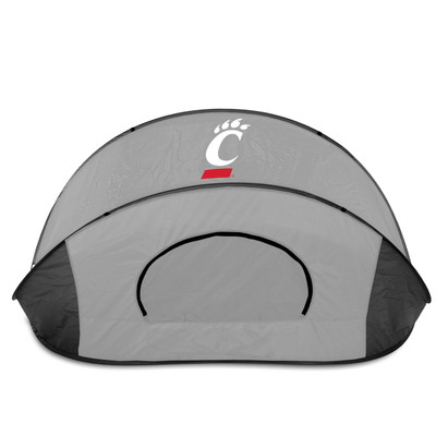 Cincinnati Bearcats Manta Sun Shelter - Gray | Picnic Time | 113-00-105-664-0
