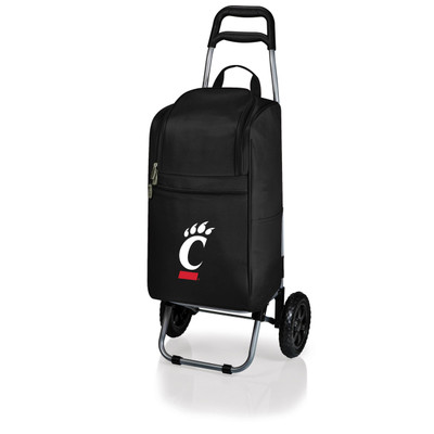 Cincinnati Bearcats Rolling Cart Cooler | Picnic Time | 545-00-175-664-0