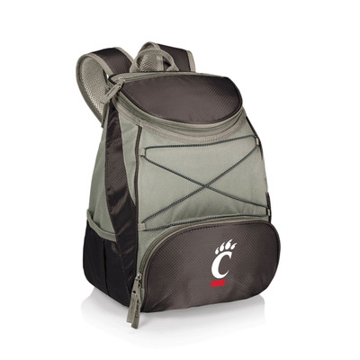 Cincinnati Bearcats Insulated Backpack PTX - Black | Picnic Time | 633-00-175-664-0