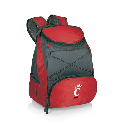 Cincinnati Bearcats Insulated Backpack PTX - Red | Picnic Time | 633-00-100-664-0
