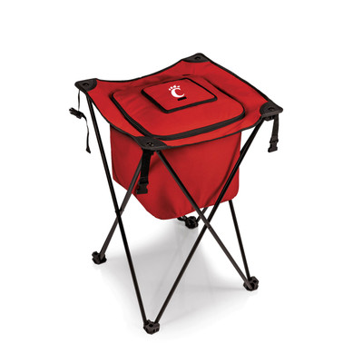 Cincinnati Bearcats Sidekick Portable Cooler - Red | Picnic Time | 779-00-100-664-0