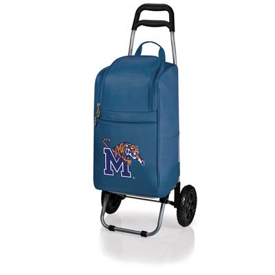 Memphis Tigers Rolling Cart Cooler | Picnic Time | 545-00-138-754-0