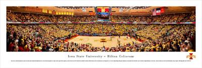 Iowa State Cyclones Standard Frame Panoramic Photo - Basketball | Blakeway | IASU4