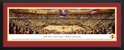 Iowa State Cyclones Panoramic Photo Deluxe Matted Frame  | Blakeway | IASU4D