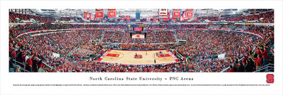 NC State Wolfpack Standard Frame Panoramic Photo - Basketball | Blakeway | NCSU2