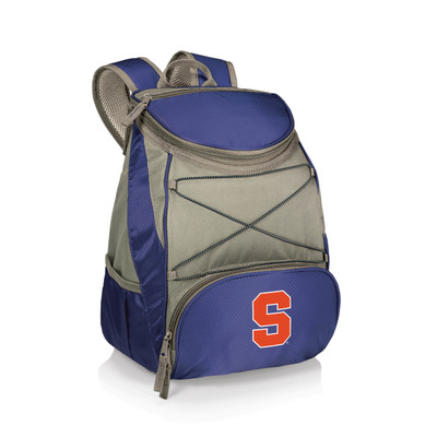 Syracuse Orange Insulated Backpack PTX - Navy | Picnic Time | 633-00-138-544-0