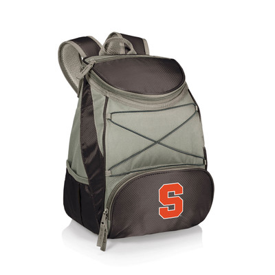 Syracuse Orange Insulated Backpack PTX - Black | Picnic Time | 633-00-175-544-0