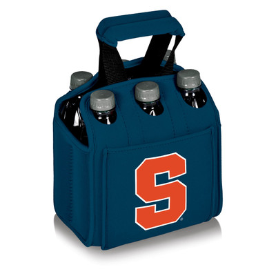 Syracuse Orange 6-Pack Cooler Caddy Tote - Blue | Picnic Time | 608-00-139-544-0