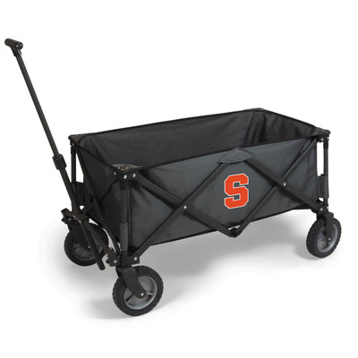Syracuse Orange Portable Adventure Wagon | Picnic Time | 739-00-679-544-0