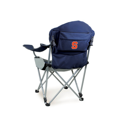Syracuse Orange Reclining Camp Chair | Picnic Time | 803-00-138-544-0