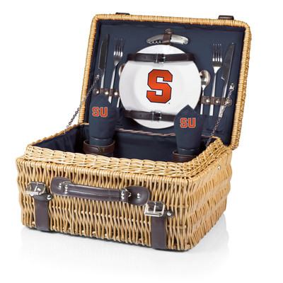 Syracuse Orange Champion Picnic Basket - Black | Picnic Time | 208-40-138-544-0