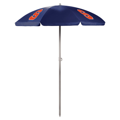 Syracuse Orange Beach Umbrella | Picnic Time | 822-00-138-544-0
