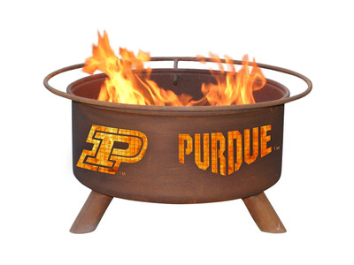Purdue Boilermakers Portable Fire Pit Grill | Patina | F229