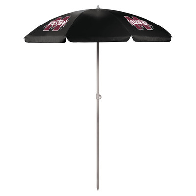 Mississippi St. Bulldogs Beach Umbrella | Picnic Time | 822-00-179-384-0