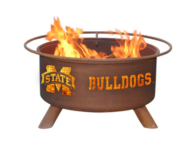 Mississippi St. Bulldogs Portable Fire Pit Grill | Patina | F246