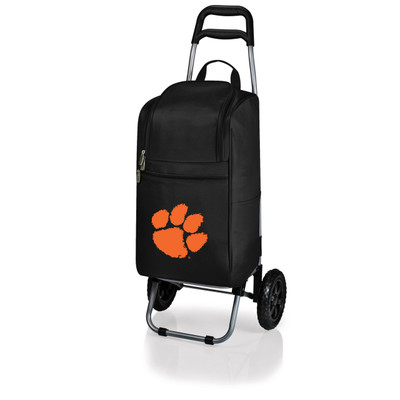 Clemson Tigers Rolling Cart Cooler | Picnic Time | 545-00-175-104-0