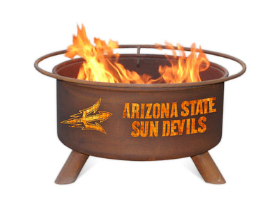 Arizona State Sundevils Portable Fire Pit Grill | Patina | F213