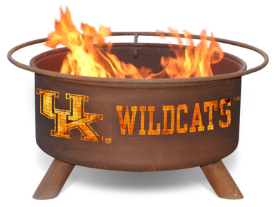 Kentucky Wildcats Portable Fire Pit Grill | Patina | F219