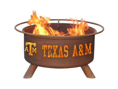 Texas A&M Aggies Portable Fire Pit Grill | Patina | F232