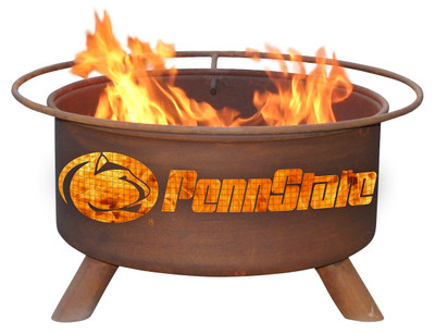 Penn State Nittany Lions Portable Fire Pit Grill | Patina | F240